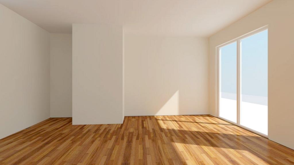 Tyhjä remontoitu asunto